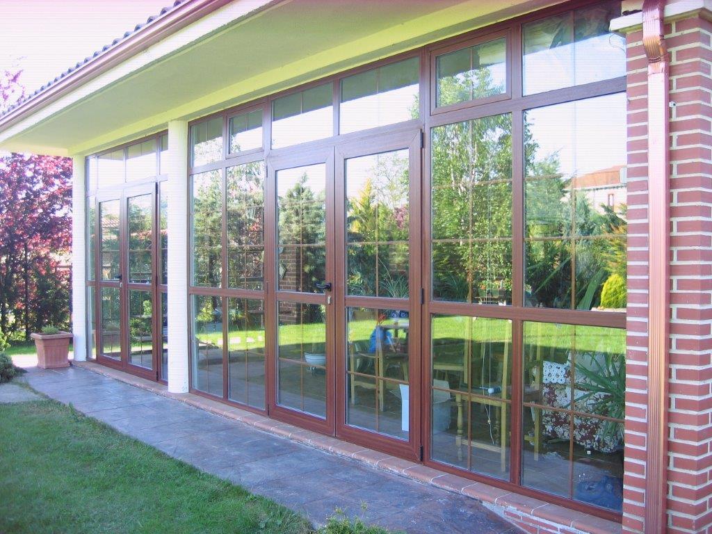 Cerramiento porche carpinteria de aluminio y pvc oti - Cerramiento aluminio porche ...