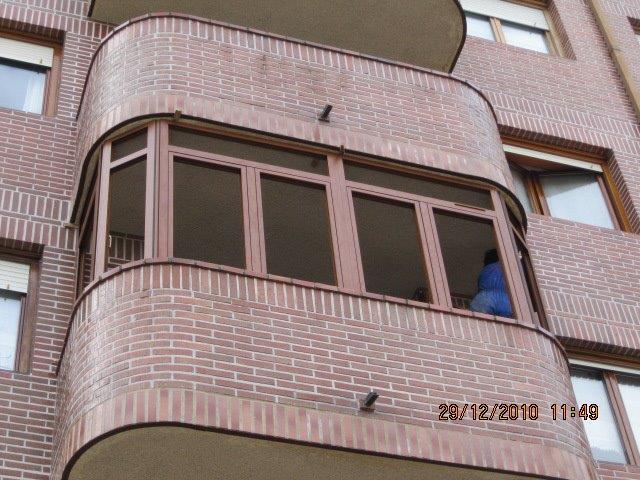 Presupuesto para cerrar balc n o terraza en vitoria - Cerrar balcon ...